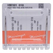 Sebészeti frézer (161) (Lindemann), Kézidarab (HP, Ø 2,35 mm, ISO 104, 44,5 mm) ISO 18, Keményfém, 11 mm, 2 darab