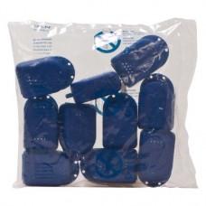 Fogszabályzó tartó doboz mini, (70 x 48 x 33 mm), kék, 10 darab