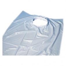 Denta, Nyálkednő, világoskék, tépozár, Műanyag, 65 cm x 75 cm, 1 darab