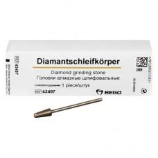 Diamantschleifkörper, gyémántcsiszoló, ISO 050, 2,35 mm, 43497, 1 darab