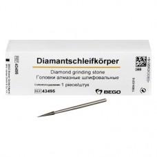 Diamantschleifkörper, gyémántcsiszoló, ISO 023, 2,35 mm, 43495, 1 darab