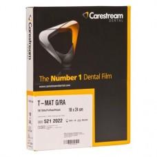 T MAT G-RA, (24 x 18 mm), Röntgenfilm, Lapok, 50 darab