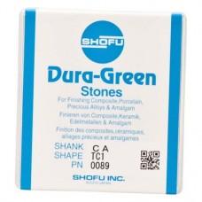 Dura-Steine, Dura-green-polírozó, TC1, RA, 12 darab