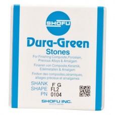 Dura-Steine, Dura-green-polírozó, FL2, FG, 12 darab