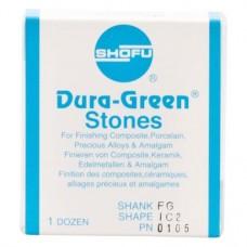 Dura-Steine, Dura-green-polírozó, IC2, FG, 12 darab