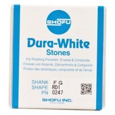 Dura-Steine, Dura-White-polírozó, RD1, FG, 12 darab