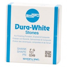 Dura-Steine, Dura-White-polírozó, TC1, FG, 12 darab