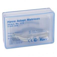 Adapt™ Matrizen Nachfüllpackung 30 darab, Stärke 0,045 mm, Form 379