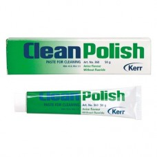 CleanPolish, Profilaxis-paszta, Tubus, Ánizs ízű, fluoridmentes, 50 g, 1 darab