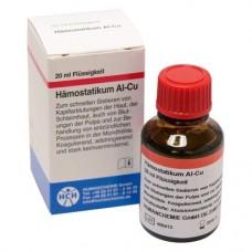 Al-Cu, Vérzéscsillapító-szer, Fiola, Alumíniumklorid, 20 ml, 1 darab