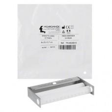 Endo Dispenser, (90 x 50 x 17 mm), (12x), Endo-tray, fehér, Nemesacél, 1 darab