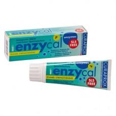 Curaprox enzycal, Fogkrém, Tubus, fluoridtartalmú, Nátriumfluorid, 75 ml, 1 darab