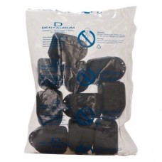 Fogszabályzó tartó doboz maxi, (78 x 56 x 45 mm), fekete, 10 darab