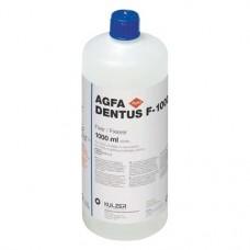 AGFA Dentus (B), Fixáló, Üveg, kék, 1 l ( 33.8 fl.oz ), 1 darab