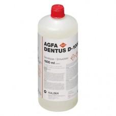 AGFA Dentus (D), Elohívó, Üveg, piros, 1 l ( 33.8 fl.oz ), 1 darab