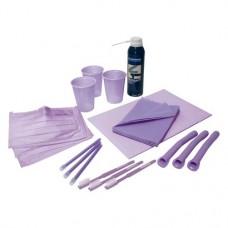 Monoart (Colour Line), Dental-szet, Karton, Egyszerhasználatos termék, lila, 1 Csomag