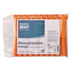 Absaugkanüle, 10 darabos csomag, orange