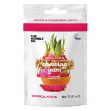 NATURAL SOURCES chewing gum - Packung 19 g fresh tropical fruits